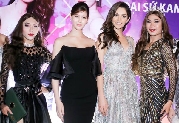 Chồng Lâm Khánh Chi cúi gập người chỉnh váy cho vợ - 7