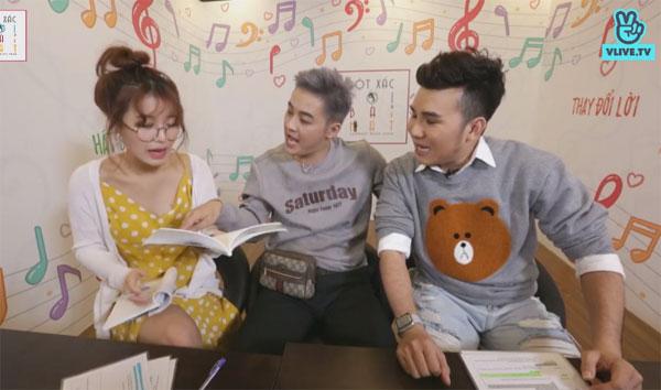 Huỳnh Lập, Thanh Duy thi nhau kể xấu mẹ.