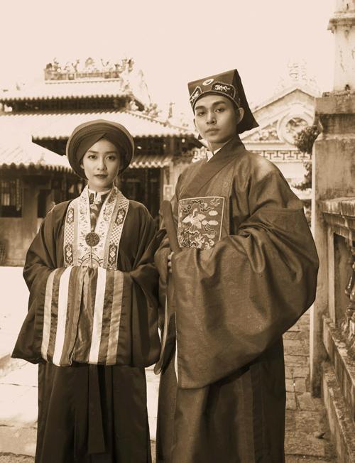 Ảnh cưới trang phục cưới của giới quý tộcthời xưa