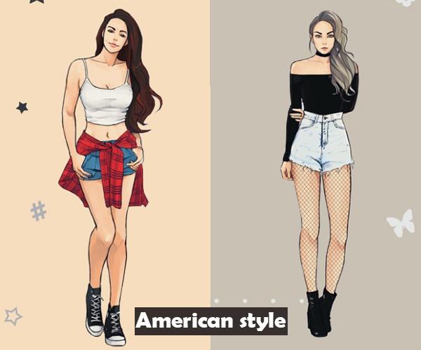 Style hè đặc trưng của teen Hàn, Nhật, Việt, Mỹ khác nhau thế nào? - 6