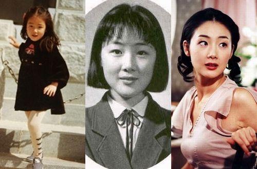 Choi Ji Woo được khen ngợi là người đẹp từ tấm bé.