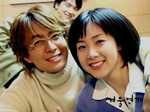 Choi Ji Woo có tin đồn tình cảm với Bae Yong Joon.