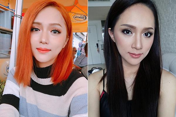 Sao Việt bị hại nhan sắc khi chuyên gia nước ngoài makeup kiểu Hàn, Thái - 1