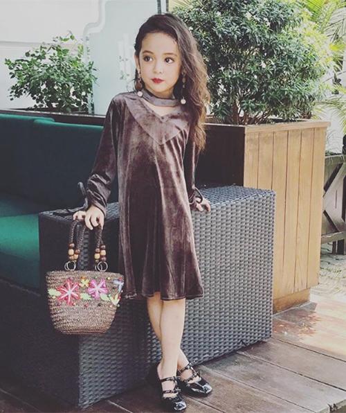 Style lớn sớm khó tin của chân dài 7 tuổi hot nhất Việt Nam - 7