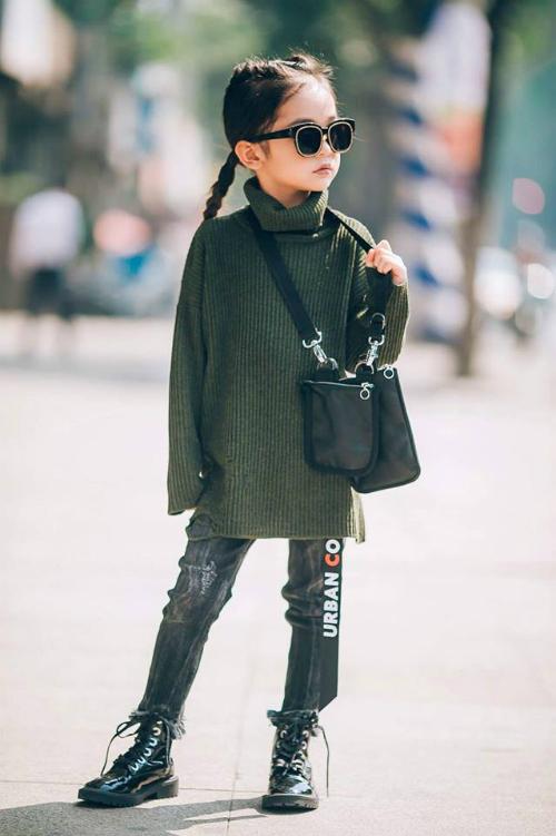 Style lớn sớm khó tin của chân dài 7 tuổi hot nhất Việt Nam - 3