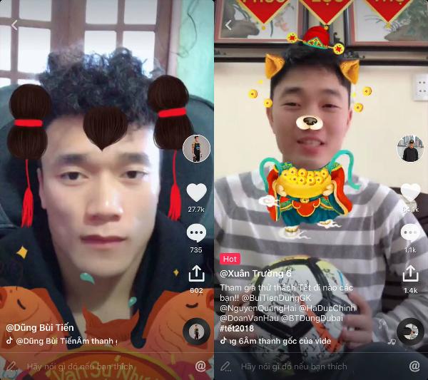 Các chàng trai U23 Việt Nam nhận nhiều sự chú ý trên Tik Tok - mạng xã hội video ngắn được giới trẻ châu Á yêu thích.
