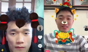 Dàn cầu thủ U23 tha hồ nhí nhố với mạng xã hội video ngắn