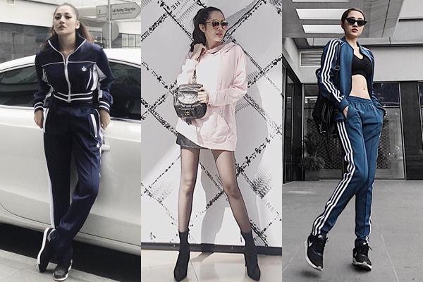 Bạn gái tin đồn Bùi Tiến Dũng mê tít mặc đồ cool ngầu như dân thể thao