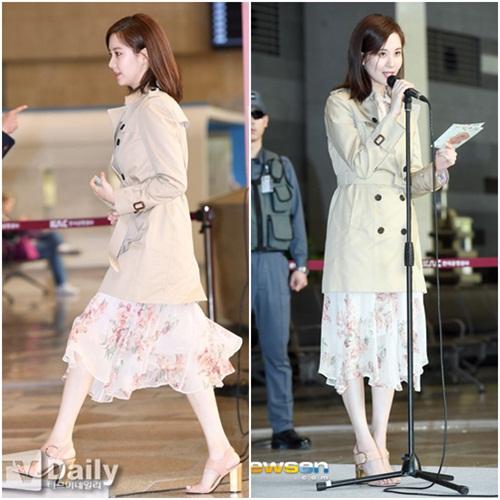 Twice lộ vẻ mệt mỏi, Red Velvet thanh lịch ra sân bay - 4