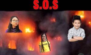 Ảnh Phương Mỹ Chi, Quang Anh bị ghép với đám cháy gây bức xúc