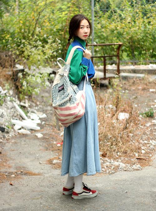 3 kiểu chân váy xinh yêu nữ sinh Hàn chuộng nhất khi đi học - 4