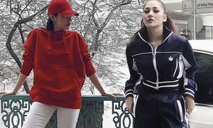 'Bạn gái tin đồn' Bùi Tiến Dũng mê mặc đồ cool ngầu như dân thể thao