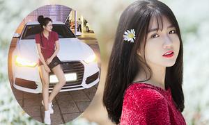 Hot girl Kiều Trinh: 'Tôi mua xe Audi bằng tiền tự làm ra'