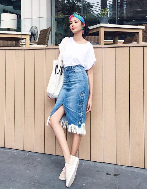 Street style chất lừ tuần chào hè của sao, hot girl Việt - 2