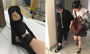 Nữ sinh bị thương nặng vì trò đùa nguy hiểm ngày Cá tháng 4