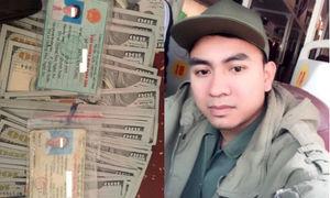 Nhặt được 8.300 USD, chàng thanh niên tìm cách trả lại người bị mất