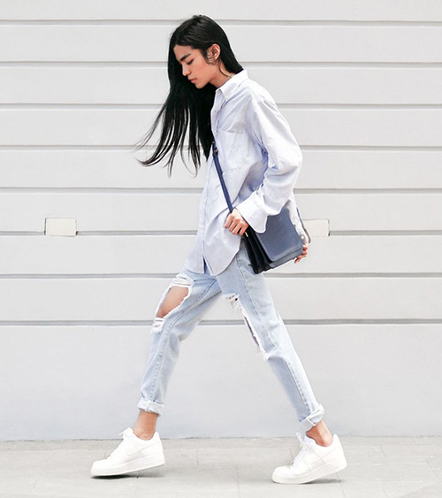 3 đôi sneakers trắng tinh nhìn là muốn sắm ngay vào tủ giày - 4