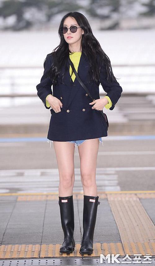 Choáng với đôi chân dài miên man của bạn gái G-Dragon - 1