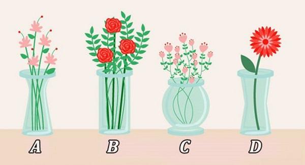 Trắc nghiệm: Chọn bình hoa hé lộ nội tâm sâu kín của bạn