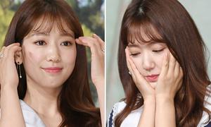 Park Shin Hye tái xuất sau tin hẹn hò, lộ mặt tròn xinh