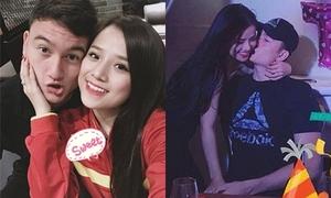 Những khoảnh khắc ngọt ngào của thủ môn 'Lâm Tây' và bạn gái hot girl