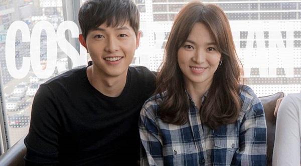 Song Hye Kyo khoe vẻ đẹp thách thức thời gian bên ông xã Song Joong Ki.