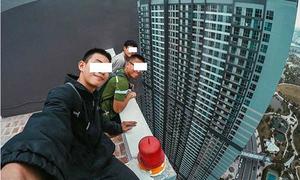 3 thanh niên Sài Gòn check-in ở tòa nhà 38 tầng gây tranh cãi