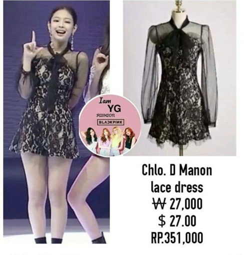 Idol sang chảnh Jennie gây sốt dù mặc váy giá bình dân - 2