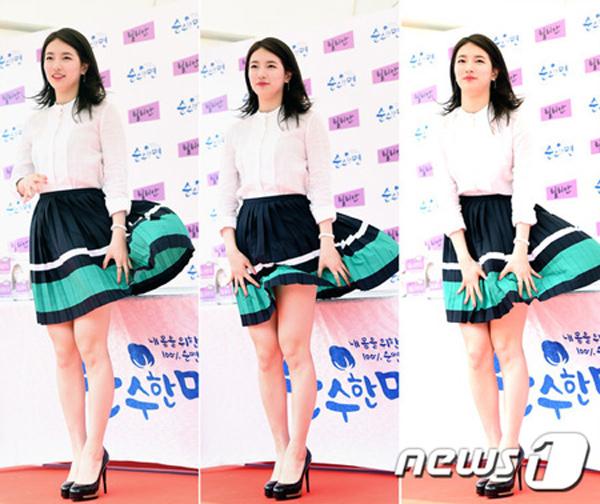 Gặp sự cố váy áo, thần thái các mỹ nhân Hàn vẫn quá xuất sắc - 5