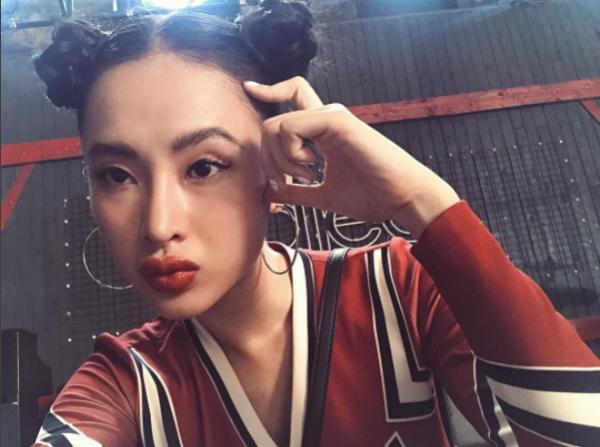 Những mỹ nhân Việt khác lạ vì đôi môi tều - 5