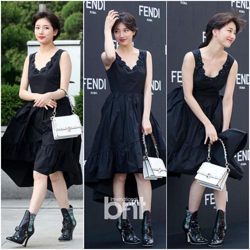 Gặp sự cố váy áo, thần thái các mỹ nhân Hàn vẫn quá xuất sắc - 6
