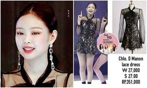 'Idol sang chảnh' Jennie gây sốt dù mặc váy giá bình dân