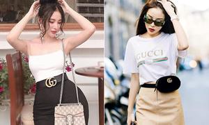 Top 3 món đồ Gucci sao Việt dùng nhan nhản như hàng chợ