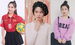 Đọ nhan sắc bạn gái của 6 cầu thủ bóng đá Việt Nam