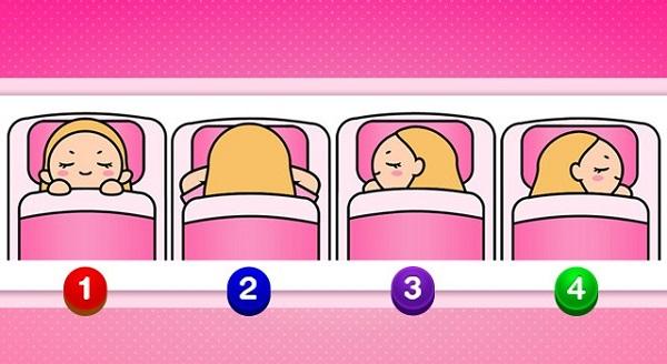 Bói vui: Bật mí một vài bí mật về bạn qua tư thế nằm ngủ