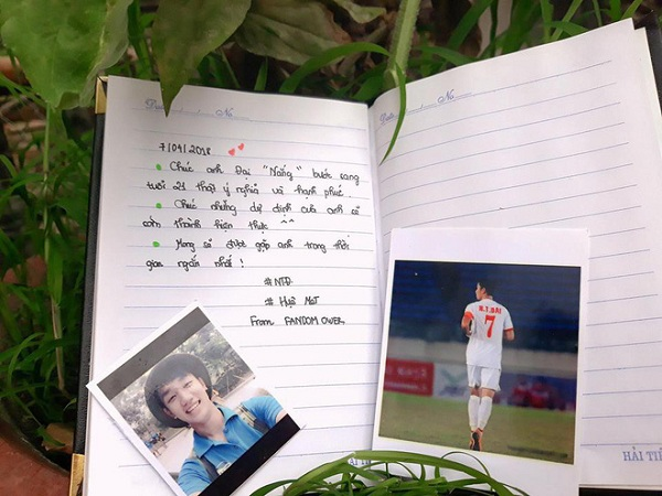 Trọng Đại U23 ngộp trong lời chúc sinh nhật của fan girl - 4