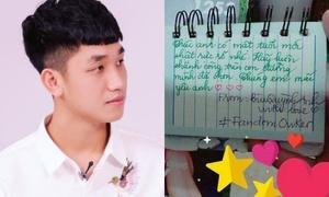 Trọng Đại U23 'ngộp' trong lời chúc sinh nhật của fan girl