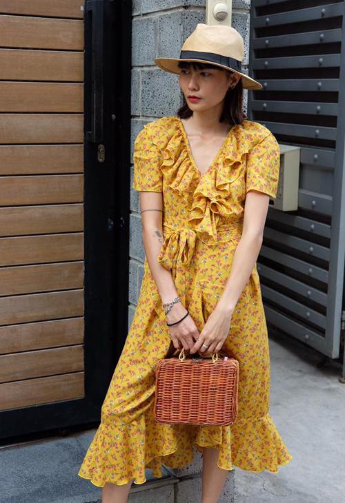 Muốn xinh như Chi Pu, đừng bỏ qua mốt váy hot nhất hè này - 9