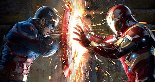 Màn nhãn với 10 phút nội chiến của cả đội Avenger trên màn ảnh