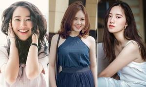 Vẻ đẹp đời thường hút like ào ào của 12 cô gái xinh nhất trường Ngoại giao