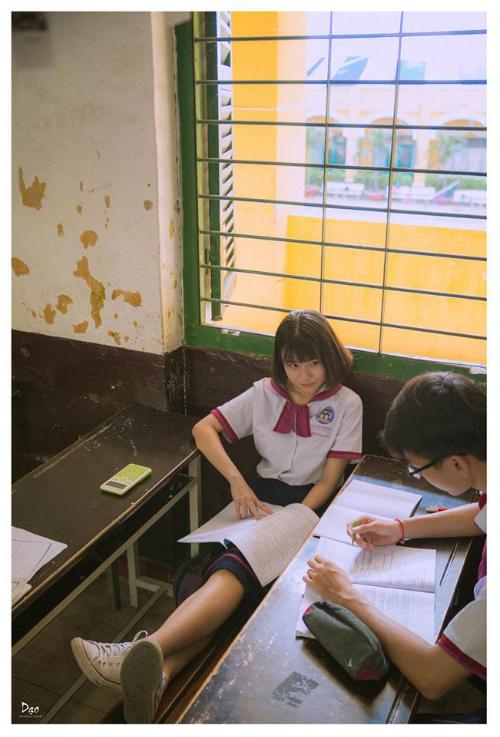 Sống lại ký ức với bộ ảnh Thanh xuân tươi đẹp phiên bản Việt - 1