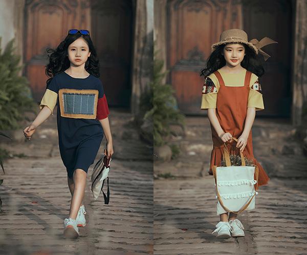 Con gái Phan Anh ra dáng hot girl khi diễn thời trang cùng bố mẹ - 6