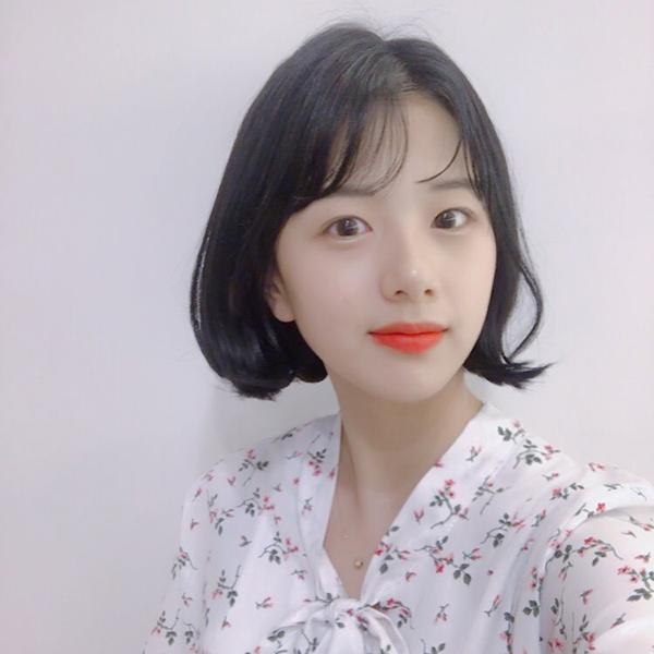 Tóc chữ C - mốt tóc nhận diện các cô gái Hàn sành điệu - 4