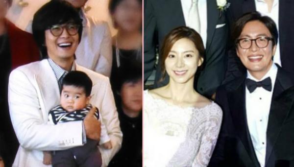 Bae Yong Joon và bà xã vừa đón đứa con thứ hai.