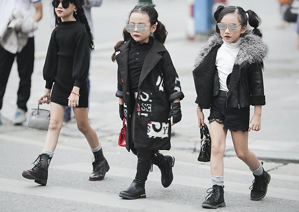 Chân dài nhí Việt tranh ngôi vedette khốc liệt không kém mẫu người lớn - 2