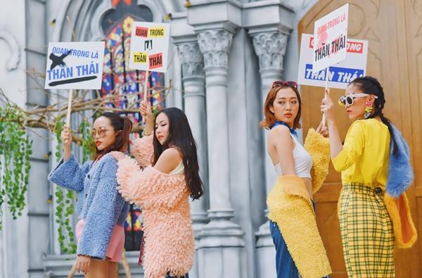 4 gái xinh diễn xuất chuẩn quan trọng là thần thái cùng Chí Thiện - 2