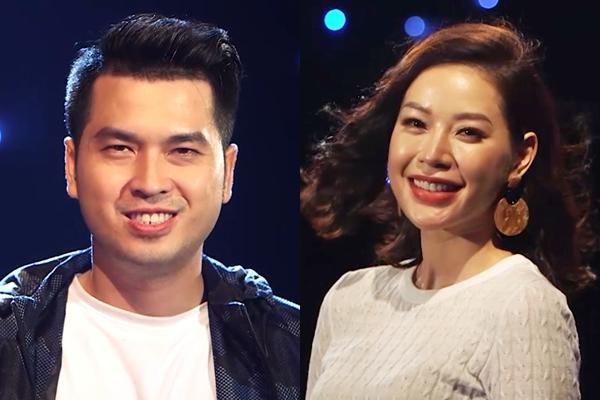 Lê Linh - Alex Huỳnh tại show hẹn hò,