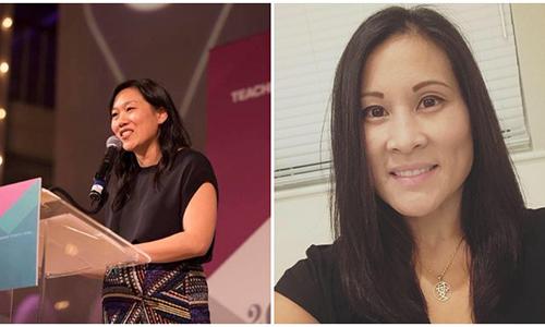 Ngoại hình 2 người phụ nữ đồng hành cùng ông chủ Facebook khiến truyền thông bối rối.