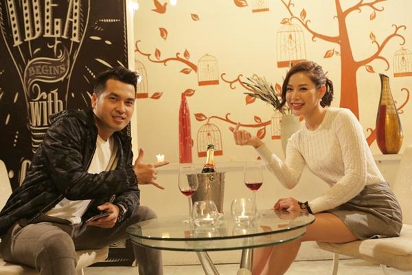 Buổi hẹn hò đầu tiên của Lê Linh, Alex Huỳnh sau khi chấp nhận quá khứ để hướng đến tương lai.