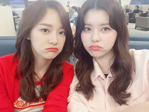 Se Jeong và So Yi Gugudan